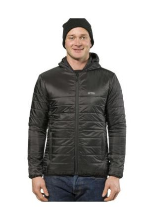 XTM Cannon Mens Puffer Jacket Black 2019 front