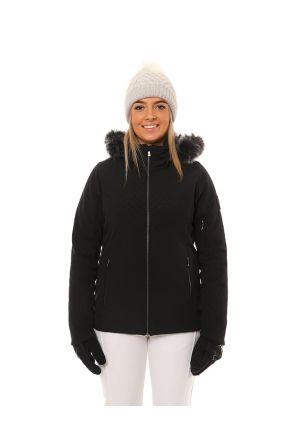 XTM Chamonix Womens Snow Jacket Black Front