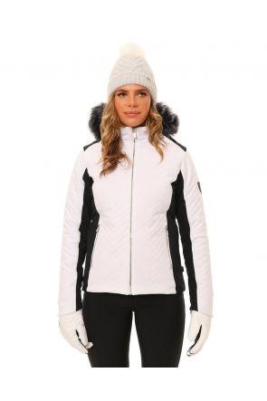 XTM Chamonix Womens Snow Jacket White Front