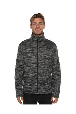 XTM Crusade Mens Snow Fleece Jacket Dark Grey 2019 Front
