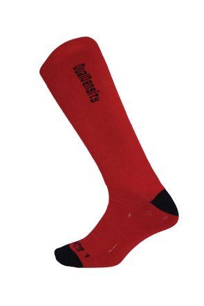 XTM Dual Density Kids Winter Socks 2 PAIR PACK Red