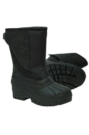 XTM Galaxy Unisex Kids Après Snow Boots 2019 Black Pair