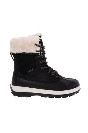 XTM Georgie Womens Waterproof Apres Snow Boots Black Main