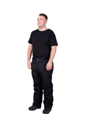 XTM GLIDE II MENS PLUS SIZE SKI PANT BLACK SIZES XL - 7XL