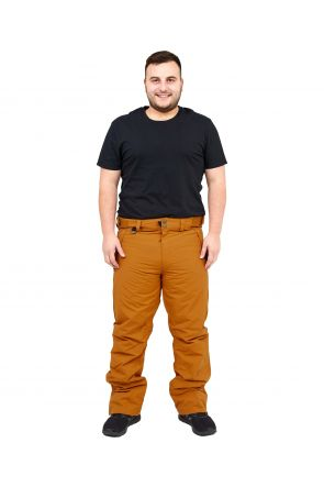 XTM Glide II Mens Plus Size Ski Pant Copper Sizes 2XL-6XL