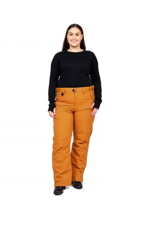 XTM Glide II Womens Unisex Plus Size Ski Pant Copper Sizes Sizes 3XL - 6XL FRONT