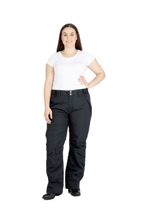 XTM GLIDE II UNISEX PLUS SIZE SKI PANT BLACK SIZES SIZES XL - 7XL