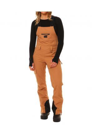 XTM Harper Womens Snow Bib Pants Biscuit Front