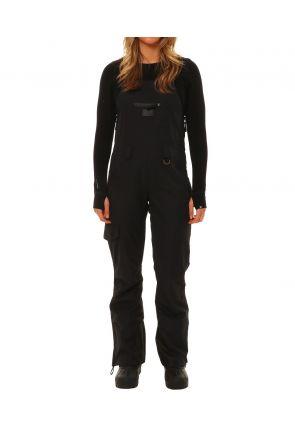 XTM Harper Womens Snow Bib Pants Black Front