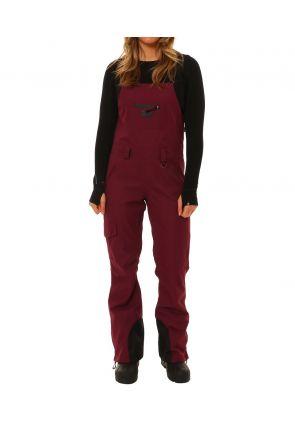 XTM Harper Womens Snow Bib Pants Shiraz Front