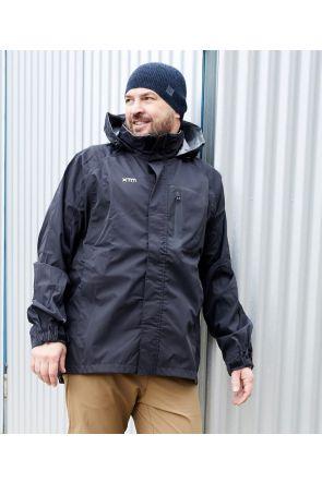 XTM Kakadu Mens Plus Size RAIN Jacket Black 2XL-7XL Lifestyle
