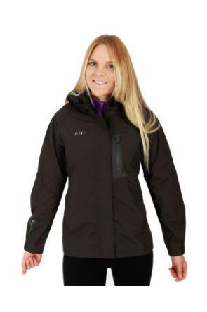 XTM Kimberley Womens Rain Jacket Black front