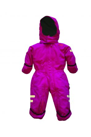 XTM Kioko Infant Baby Ski Suit All-In-One Berry Pink