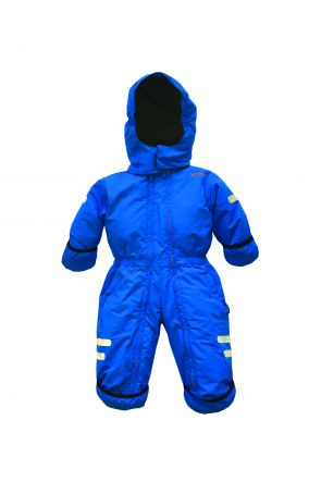 XTM Kioko Infant Baby Ski Suit All-In-One Bright Blue