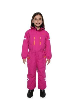 XTM Kori Kids Ski Suit All in one Berry Pink