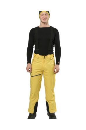 XTM Lithium Unisex Ski Pants Yellow 2019 front