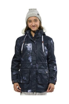 XTM madison jacket navy floral front