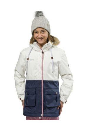 XTM madison jacket white navy front