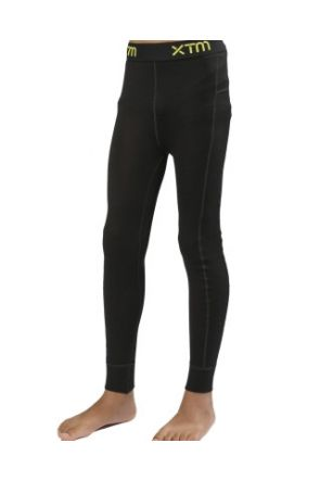 XTM Merino Wool Kids Thermal Pants Black 4-16 years 2019