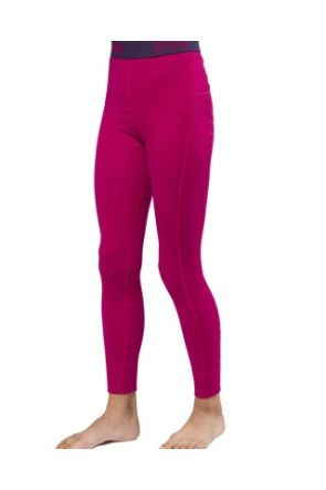 XTM Merino Wool Kids Thermal Pants Deep Pink 4-14 years 2019 front1