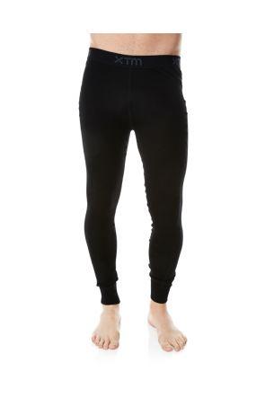XTM Merino Wool Mens Thermal Pants Black 2019 Front