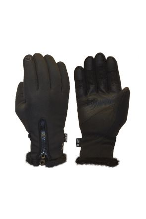 XTM Nina Womens Softshell Snow Gloves Black 2019 Pair