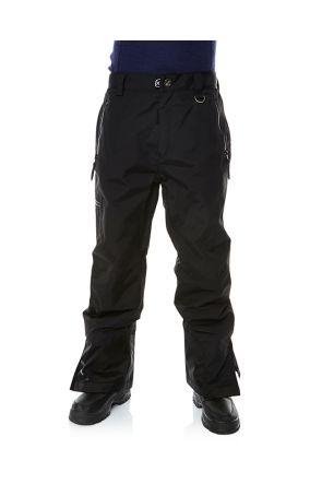 XTM Ninja Kids Teens Snow Pants Black Front