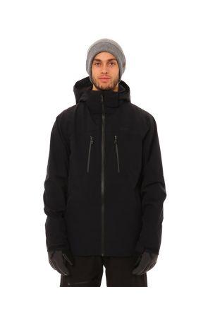 XTM Palladium Mens 3 in 1 Snow Jacket Black Front