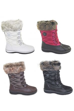 XTM Pamela Womens Après Snow Boots All Colours