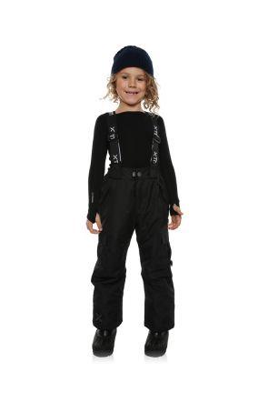 XTM Pluto Kids Ski Pant Black Front