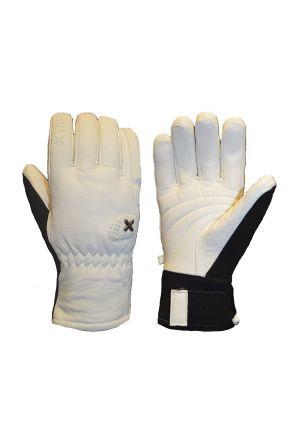 XTM Podium Unisex Snow Gloves White 2019 Pair