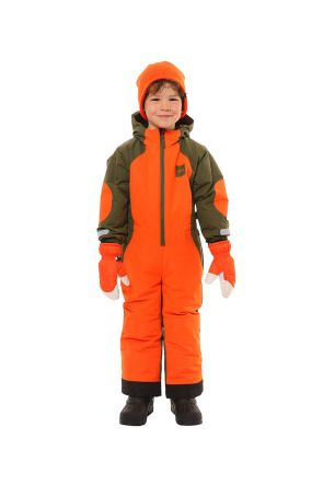 XTM Rugrats Kids Snow Suit Dino 0-6 Years Front