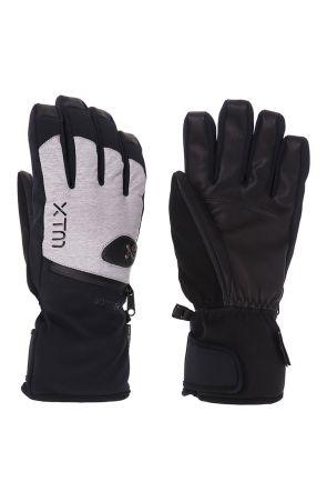XTM Sage Adult Unisex Ski Gloves Grey Denim Front