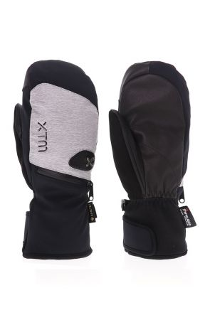 XTM Sage Adult Unisex Ski Mittens Grey Denim Front