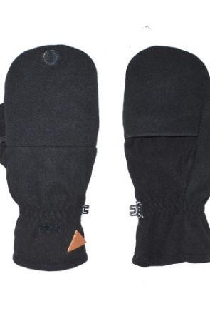 XTM Scope Unisex Hooded Gloves Black pair