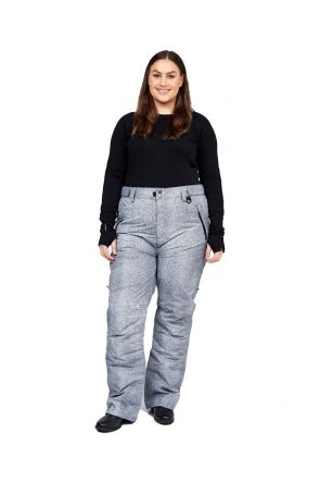 XTM Smooch II Womens Plus Size Ski Pant Grey Denim Sizes 18 - 26