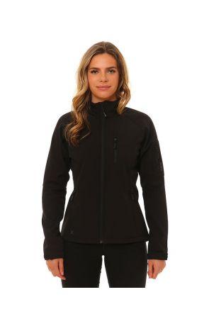 XTM Softshell Unisex Jacket Black Front