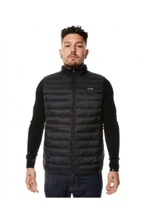 XTM Stuff-It Mens Puffer Vest Black 2019 Front