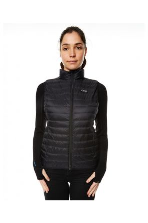 XTM Stuff-It Womens Puffer Vest Black 2019 Front