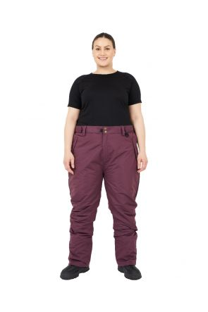 XTM Switzerland Womens Plus Size Ski Pant Shiraz Sizes 18 - 28