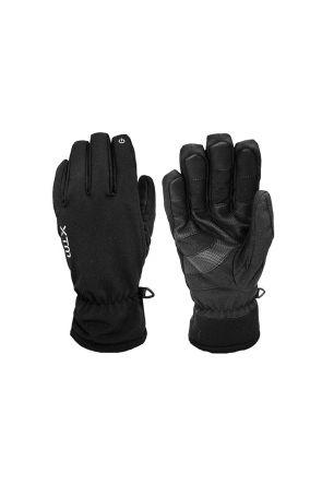 XTM Tease II Unisex Softshell Gloves Black 2019 Pair