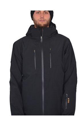 XTM Titanium Mens Ski Jacket Black 2019 front