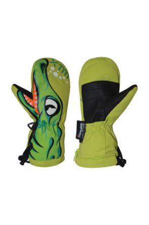 XTM Totally Wild Kids Ski Mitten Crocodile 0-4 Years 2019 pair