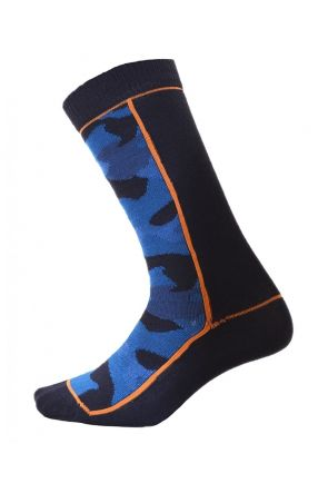 XTM Trooper Kids Snow Socks 2 PAIR PACK Blue
