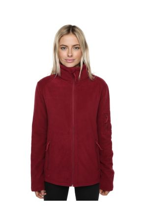 XTM Voyage Womens Snow Fleece Jacket Burgundy Front