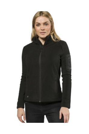 XTM Wildcat Ladies Snow Fleece Jacket Black 2019 front