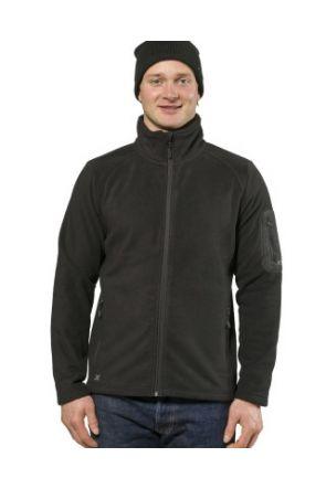 XTM Wildcat Mens Snow Fleece Jacket Black 2019 front
