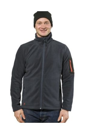 XTM Wildcat Mens Snow Fleece Jacket Navy 2019 front