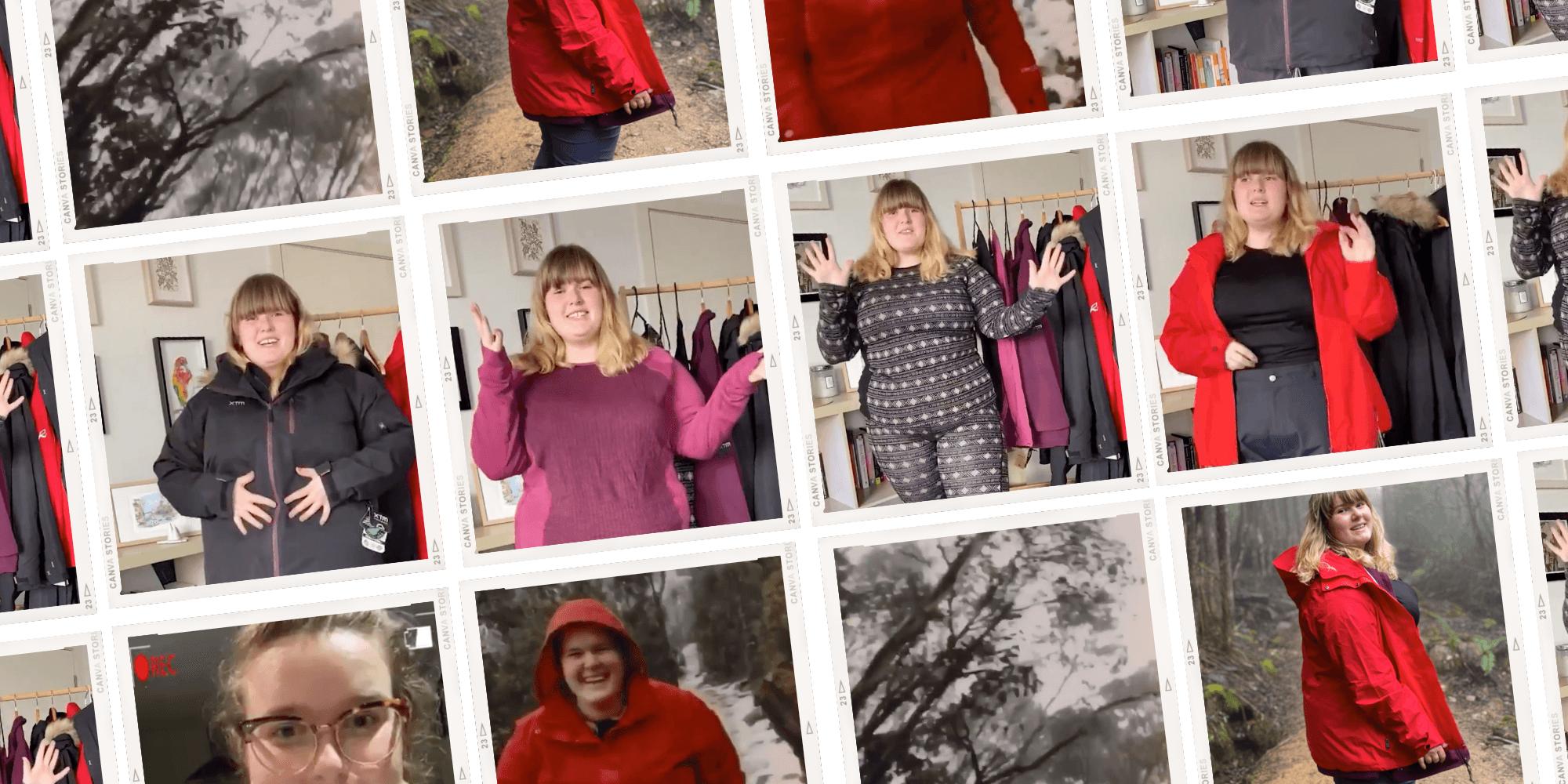 """What She Said"" Katie Parrott honestly reviews Plus Outdoor plus size clothing"