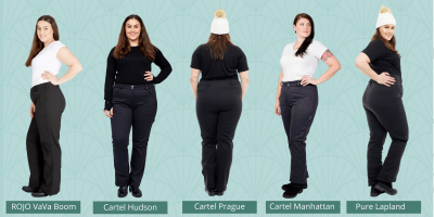 5 Plus Size Softshell Pants to wear this winter
